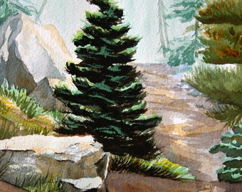 Mountain Path Card or Print
