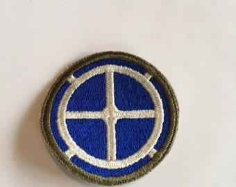"""Vintage WWII Army Patch 35th Infantry """"Santa Fe"""""""