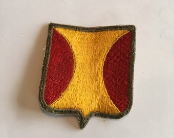 Vintage WWII Army Patch Panama Department