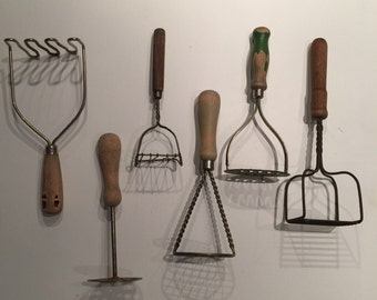 Antique Masher Collection