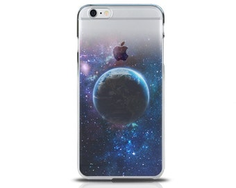 Transparent Hard iPhone 6S case, iPhone 6S plus case, iPhone 6 case, iPhone 6 plus case,iPhone SE case, iPhone 5S cases - earth shadow