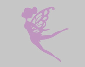 little pixie, pixie decal, fairy decal