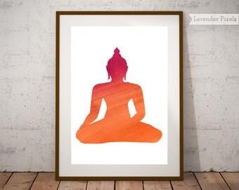 Buddhist Wall Art buddha wall art   etsy