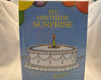 Personalized Children's Book - My Birthday Suprise
