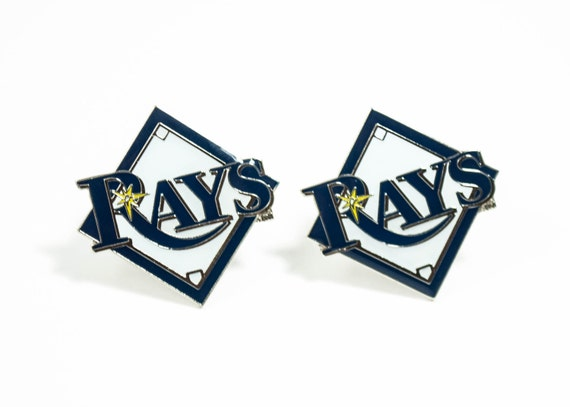 Tampa Bay Rays Cuff Links -- FREE SHIPPING with USPS First Class Domestic Mail