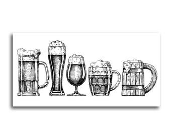Beer Pub Canvas