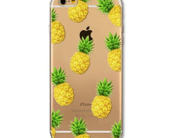 Pineapple pattern iPhone 6/6s case