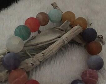 Reiki Infused Agate-beautiful multi colors