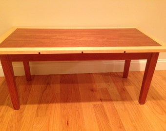 Custom Mahogany coffee table