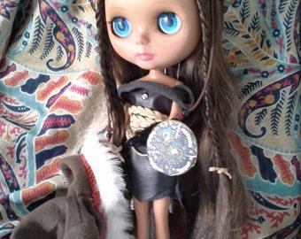 Blythe and Basaak custom doll