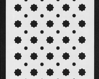 Stencil Set Moroccan Star (set of 3)