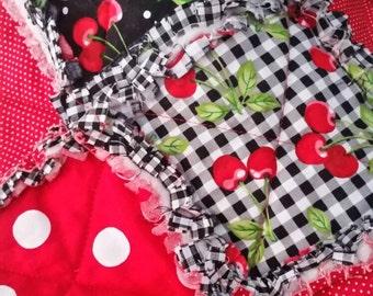 Baby Quilt - Cherry Baby