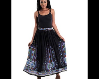 African Long Traditional Skirt