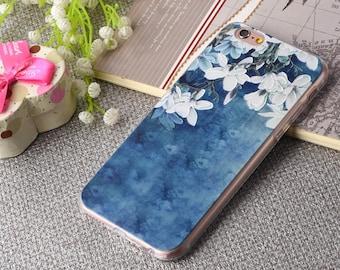 Kapok iPhone 6 case,Dark blue iPhone 6 case,iPhone 6s case, iPhone 6Plus, iPhone 6 case,Colored Drawing phone case, iPhone case