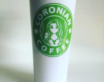 Starbucks Princess to-go tumbler