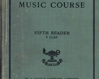 New Public School Music Course - Fifth Reader 1910s