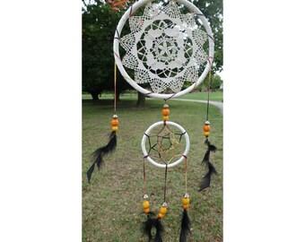 Unique Crochet Dreamcatcher