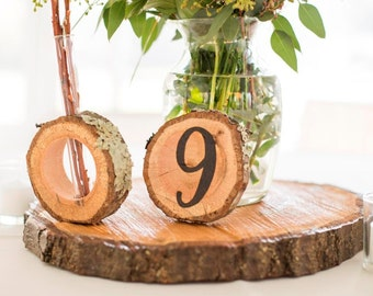 """14"""" Finished Wood Disc / Cake Stand"""