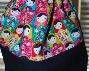 Matryoshka Dolls Drawstring Bag