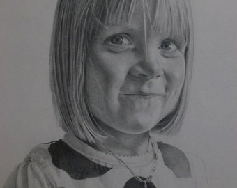 Custom graphite pencil drawing from your photos