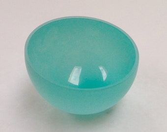 celadon blue rocking bowl