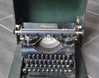 old typewriter Olympia Filia