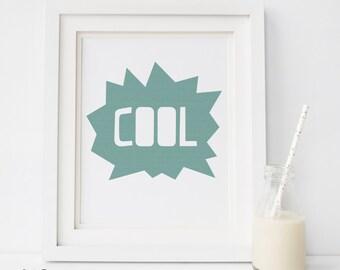 nursery cool prints, Nursery art, Nursery decor, blue print, Kids illustration, Kids wall art, Poster kids, Kids room decor, nursery prints