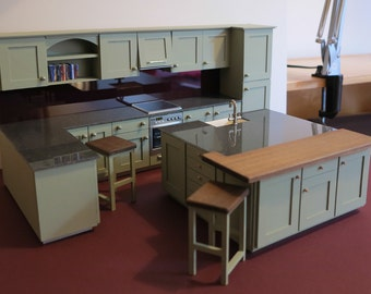 1/12th Scale Dolls House 'Fitted' Kitchen