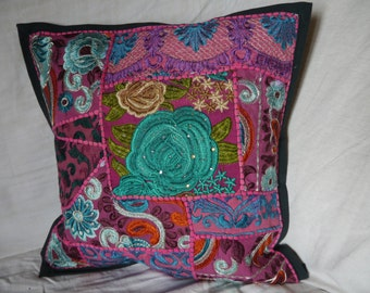Rajasthan - Patchwork cushion covers of Rajasthan patchwork cushion covers