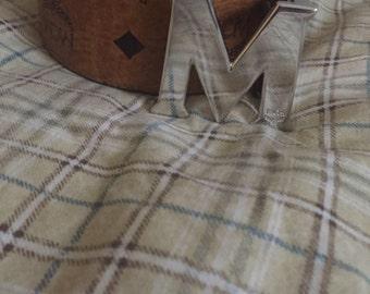 Mcm belt cognac brown
