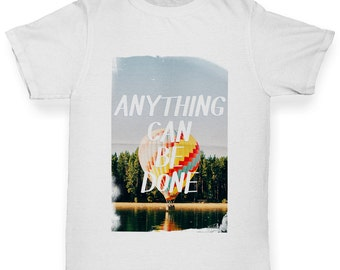 Boy's Anything Can Be Done T-Shirt