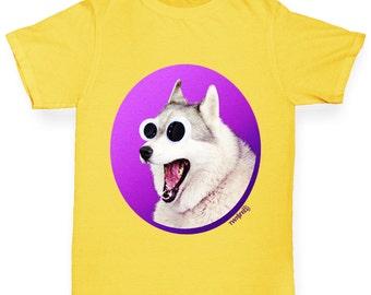 Boy's Googly Eyes Dog T-Shirt