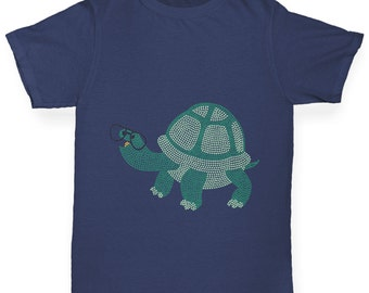 Boy's Totally Nerdy Turtle T-Shirt