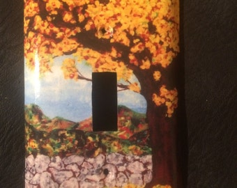 Goldentree light switch cover