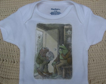 Frog and Toad with Cookies Onesie 0-3 months