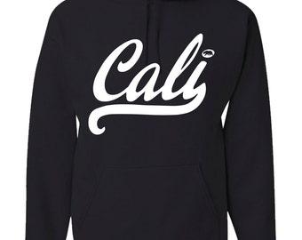 Men's Cali Hoodie Athletic California Republic Pullover Hooded Sweatshirt