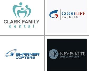 Custom logo design and corporate branding
