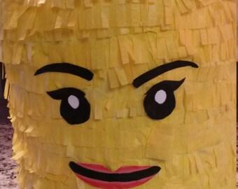 Lego Brick Piñata. Handmade. New