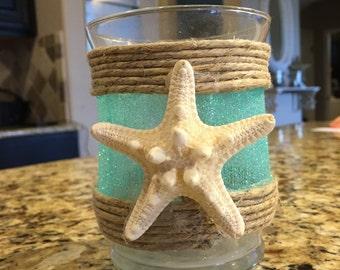 Coastal themed Candle holder