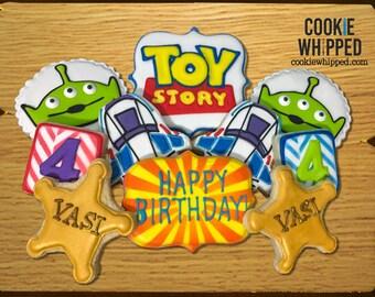Toy Story Cookies - 2 Dozen