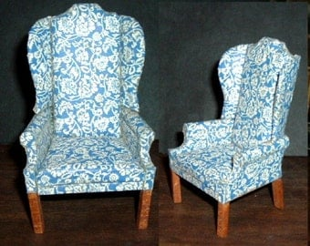 Miniature WING CHAIR - FEDERAL (Infinity)