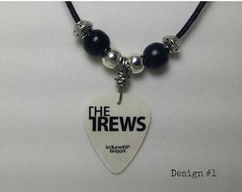 The Trews Guitar Pick Necklace