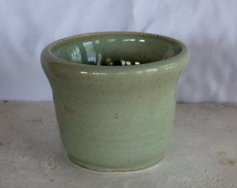 Light Blue Ceramic Cup