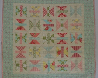 Baby Marmalade- Finished Baby Quilt- Flannel