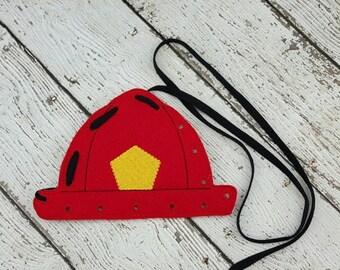 Summer Sale Fireman Lacing Card
