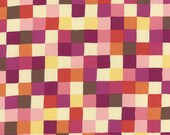 Avant Garden Rose Colored Geometric Check Pixel Picnic Multi by MoMo for Moda (Yardage, 100% Cotton Quilting Fabric)