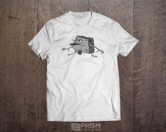 Spongebob Squarepants Caveman Meme T-Shirt