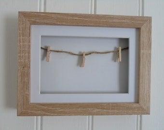 Wooden Peg Frame