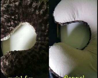 Siwrl Fur Boppy Slipcover