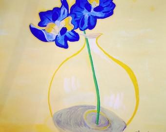 Original blue Orchid